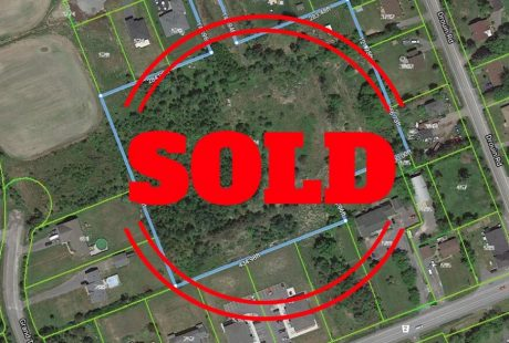 Sold 6.9 Acres development land in Clarence-Rockland By Steve Brunet